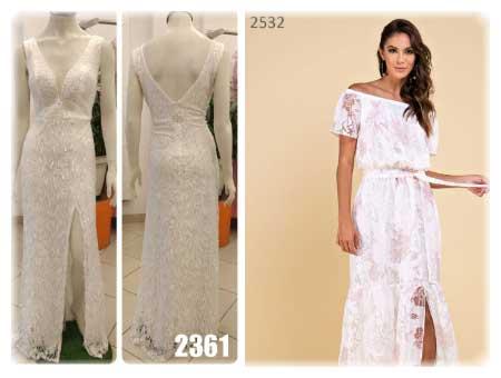vestido branco para casamento covil