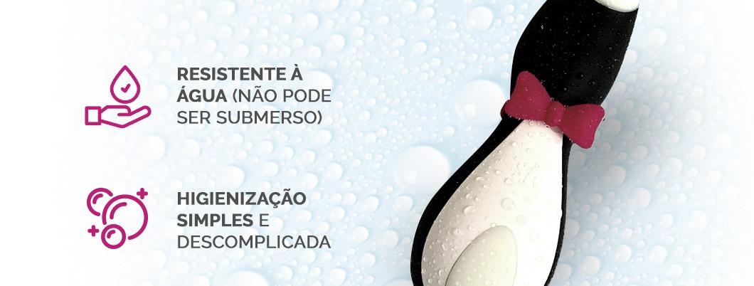 Satisfyer Penguin é resistente à água
