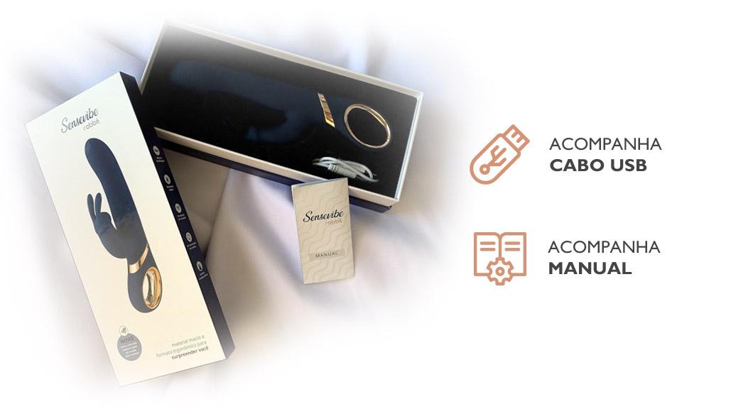 Acompanha USB e manual