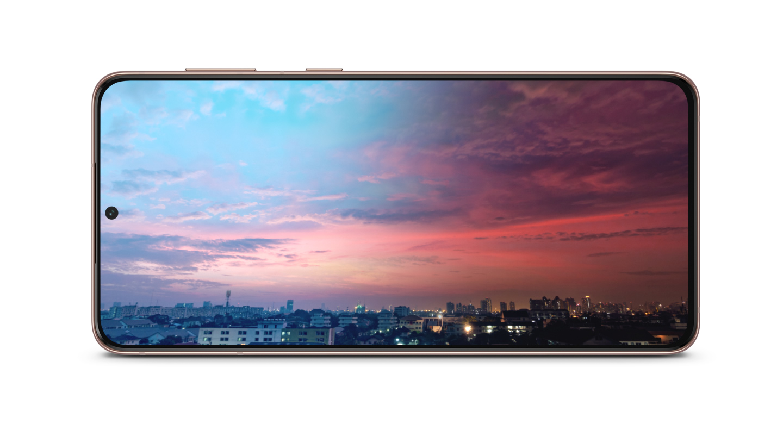 A bateria inteligente de 4800 mAh do Galaxy S21+ 5G