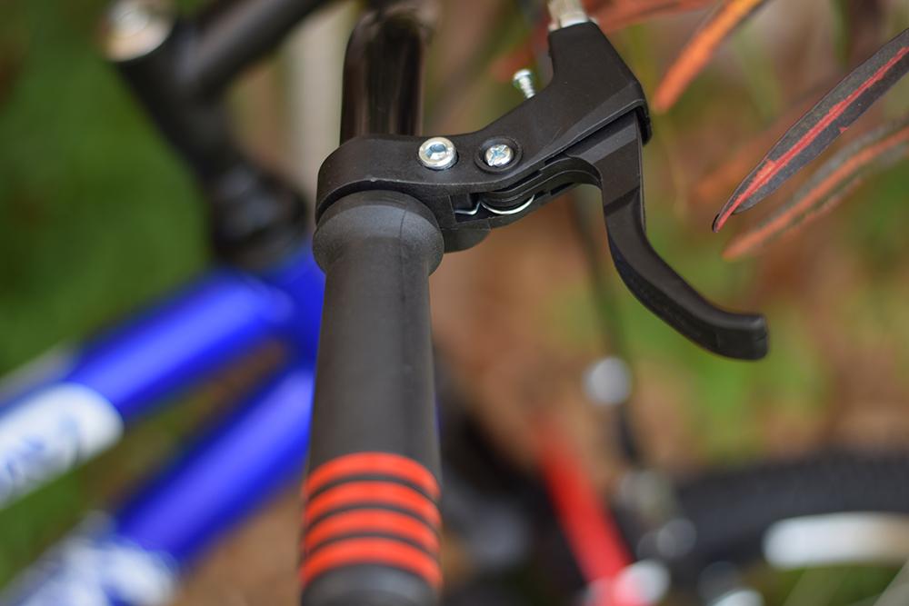 Bicicleta infantil azul luva confortável