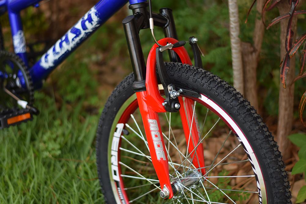 bicicleta infantil com suspensao