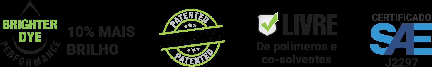 Linha de Contrastes Tracerline certificados mundialmente