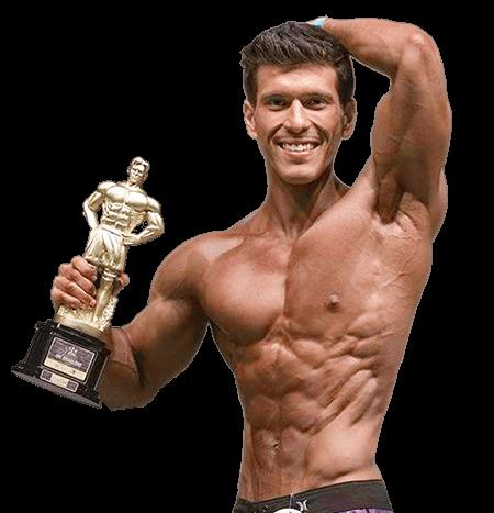 Rafael Toyama, atleta de fisiculturismo