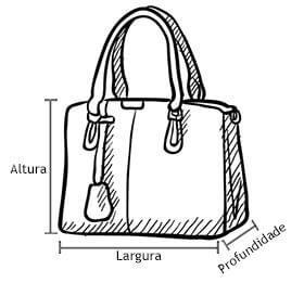 Bolsa Desenho Dimensão