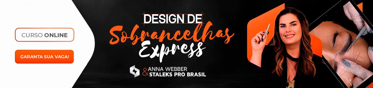Curso Design de Sobrancelhas Express Staleks Pro por Anna Webber