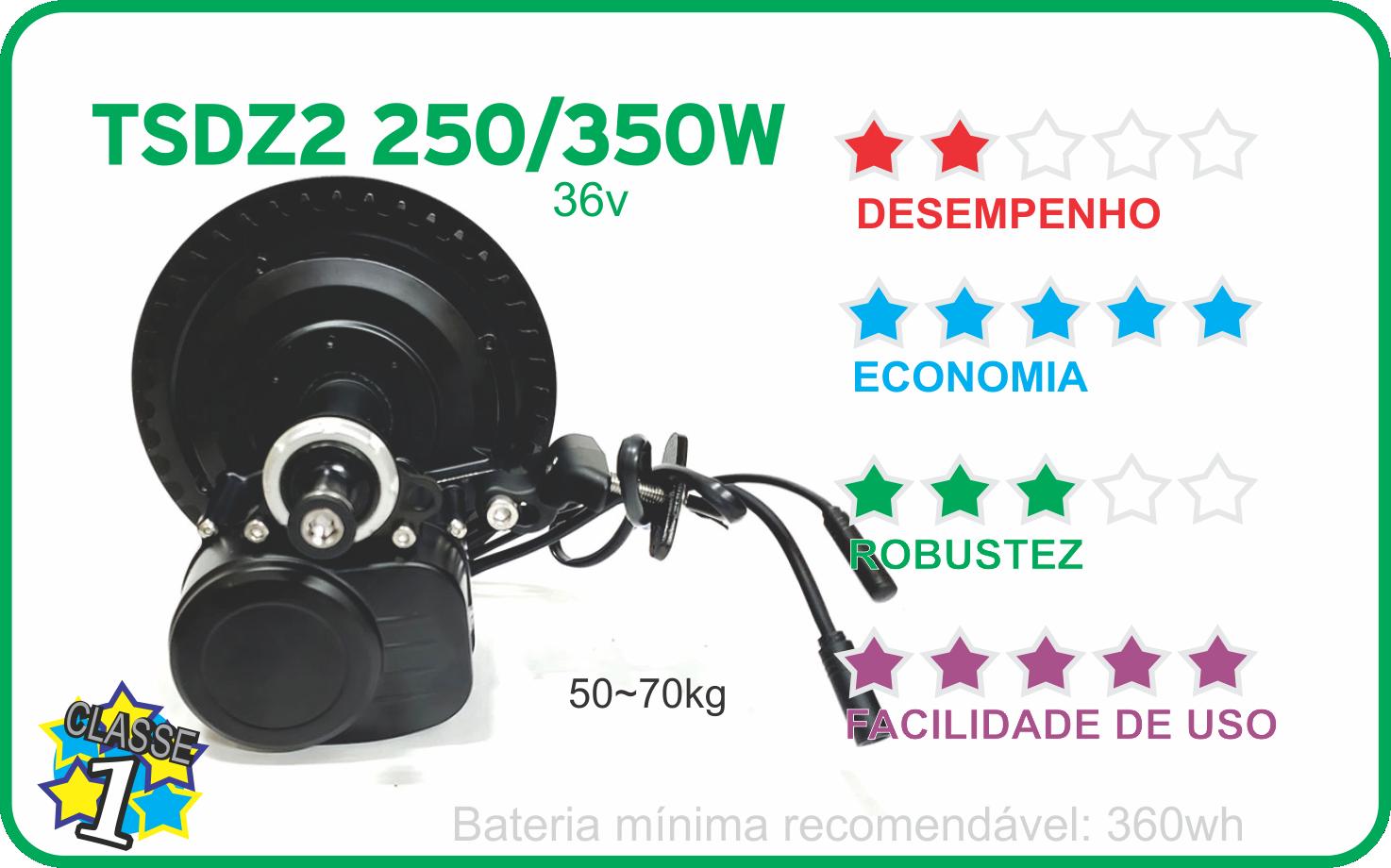 motor TSDZ2 250w