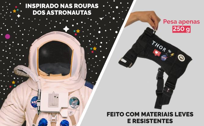 Astronauta e Peso