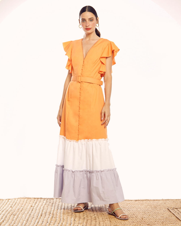 vestido-color-block-longo