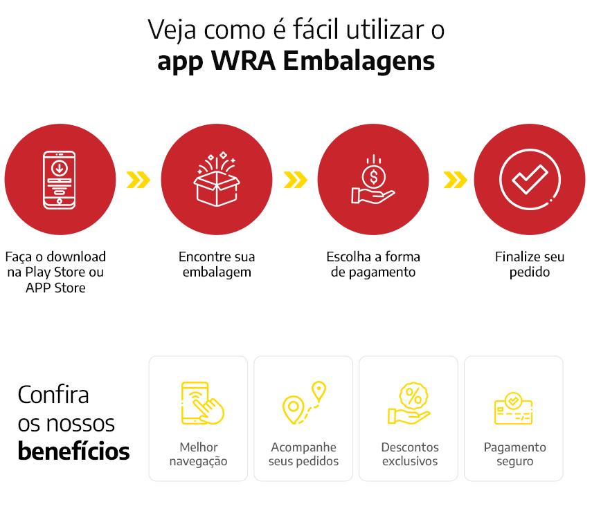 WRA embalagens aplicativo