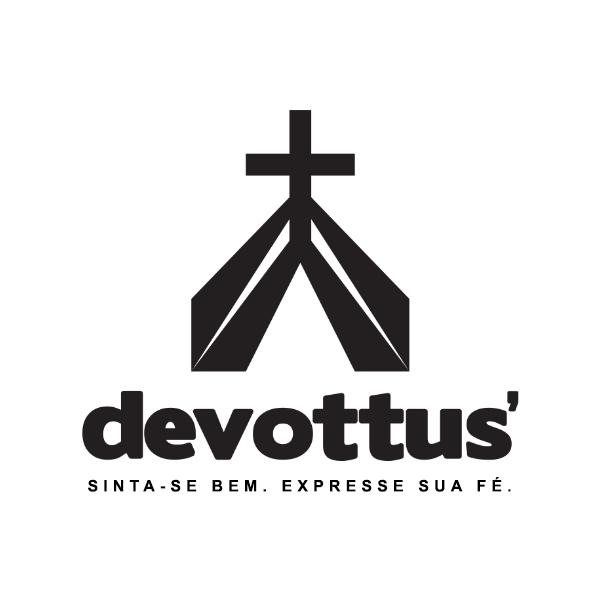 Marca Devottus' Sinta-se bem. Expresse sua fé.