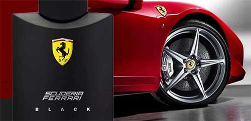 Perfume Ferrari Black Eau de Toilette Masculino