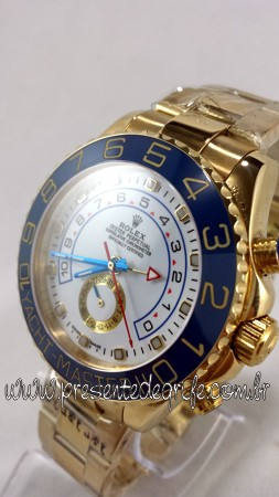 ba3901d5cf4 Relógio Rolex Oyster Perpetual Yacht Master II caixa em aço maciço