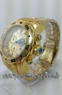 656cf10d100 Relógio Invicta Pro Diver com caixa em aço maciço