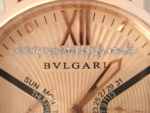 Presente de Grife - RELÓGIO BULGARI SOTIRIO EDIÇÃO LIMITADA bfd15101c7