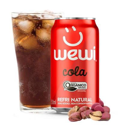 Refrigerante Wewi Cola Orgânico