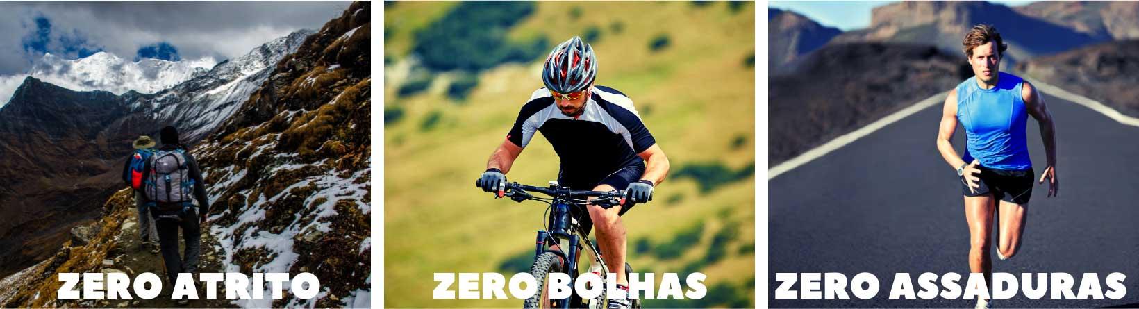 Zero Atrito Zero Bolhas Zero Assaduras