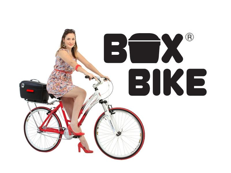 Box bike instalada na bike