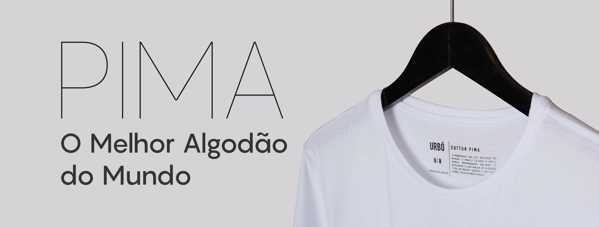 Camiseta Pima, Uma camiseta de Algodão Lisa com um material extremamente raro e de alta qualidade. Sendo uma Camiseta Cotton Pima única no mercado!