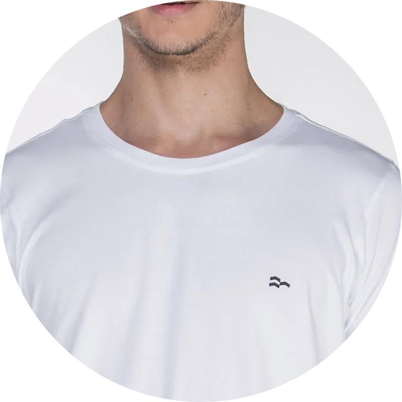 camiseta de algodao egipcio