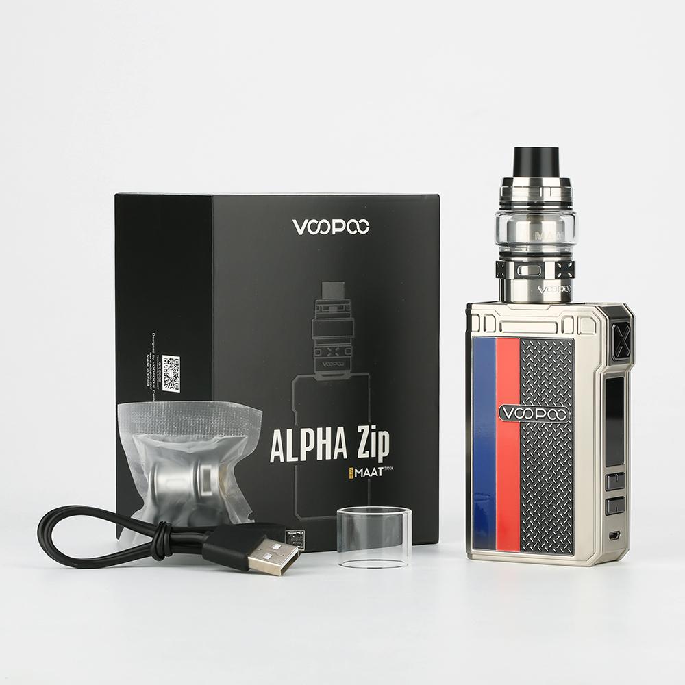 Vape ALPHA Zip 180W Starter Kit - Voopoo