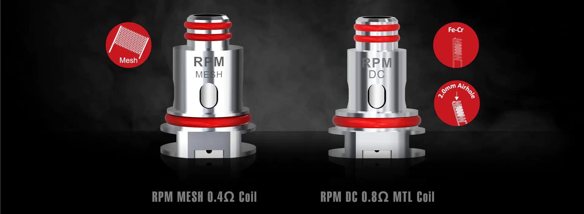 Vape RPM Lite 40W 1250mAh Starter Kit - Smok