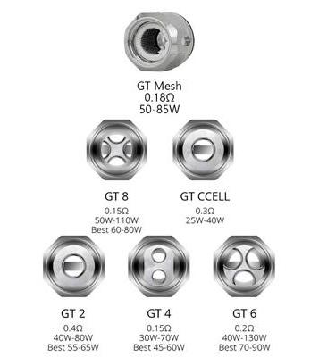 Vaporesso Luxe S SkRR Starter Kit - Coils Resistências Compatíveis