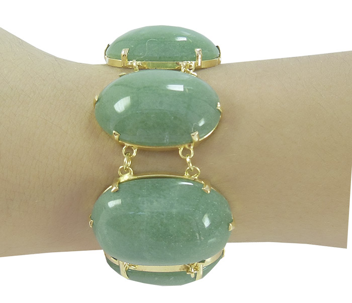 Bracelete de Quartzo Verde