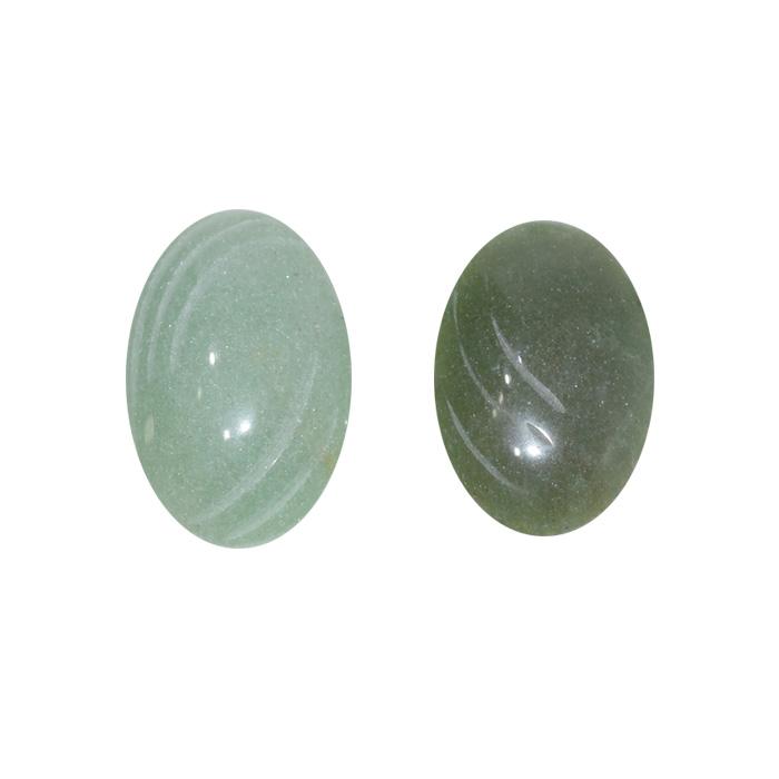 cabochão de quartzo verde