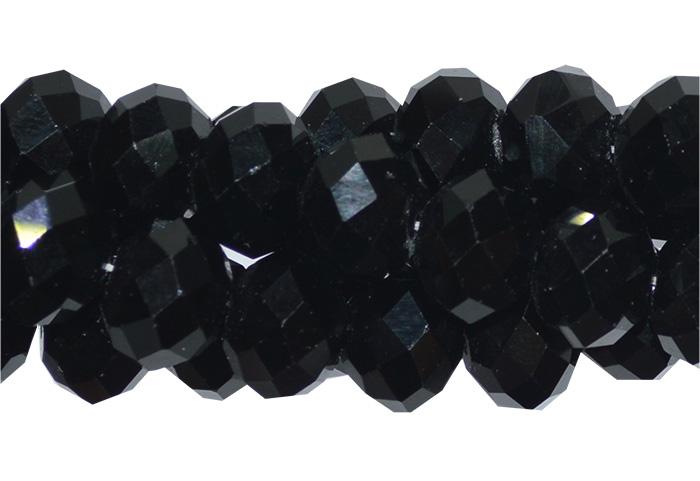 cristal de vidro preto