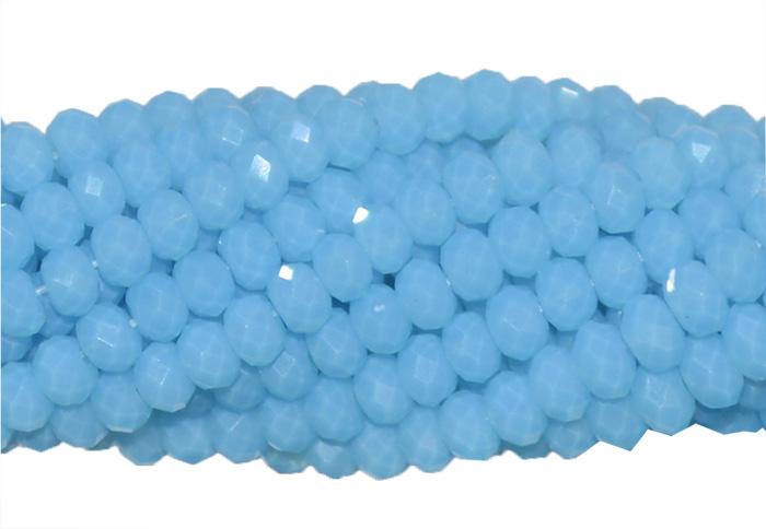 cristal de vidro azul