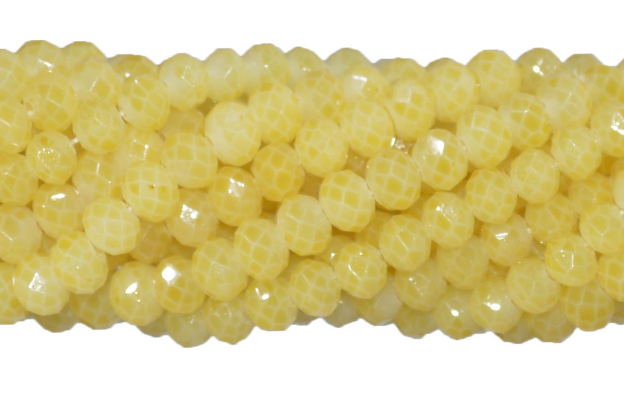 cristal de vidro amarelo