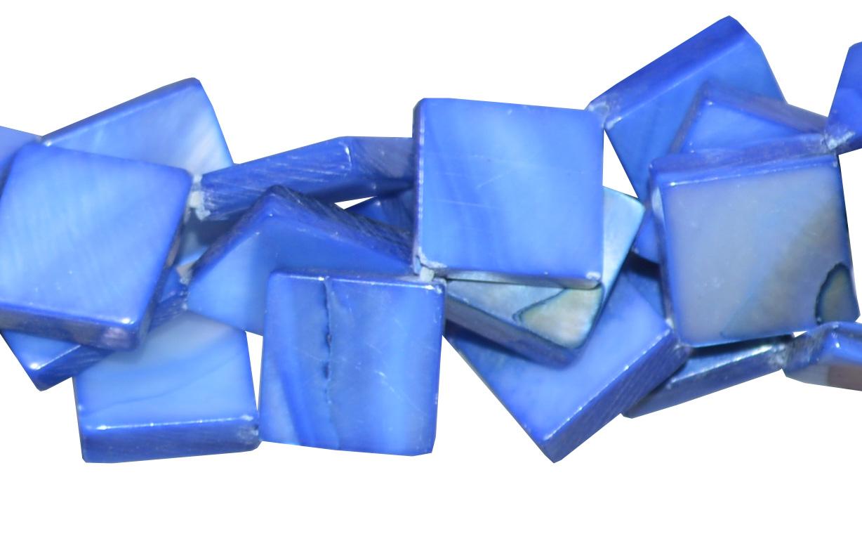 Fio de madrepérola azul
