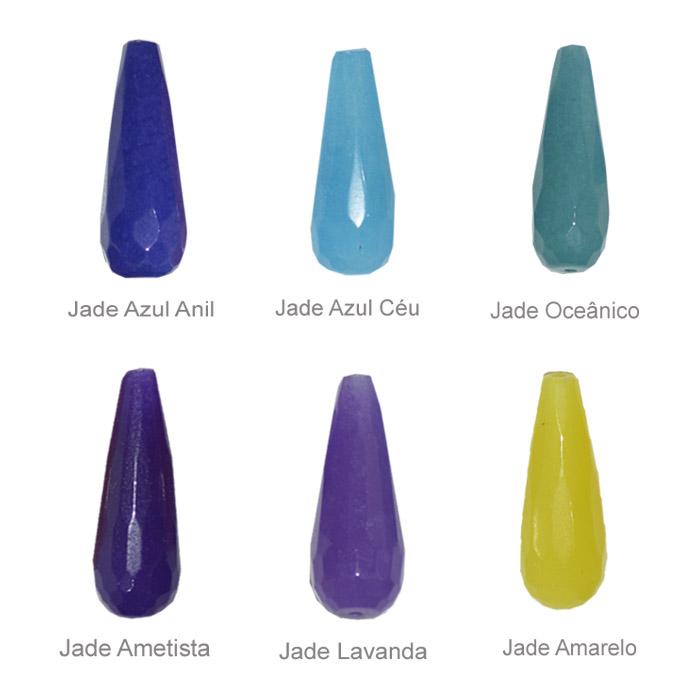 gota de jade para brinco