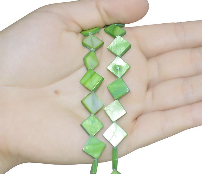 Madrepérola formato triangular