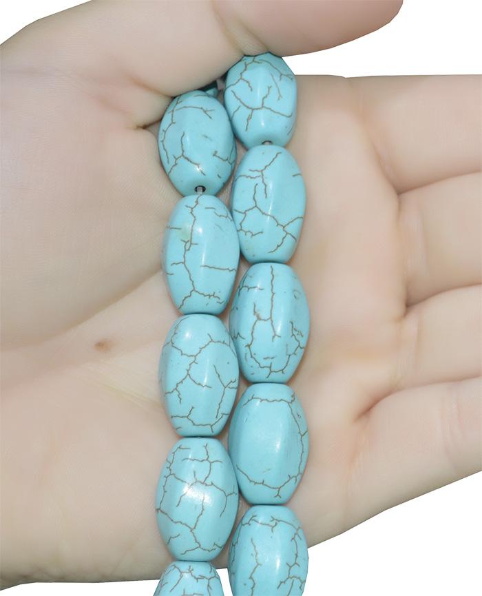 turquesa azul reconstituída