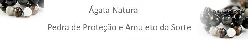 AGATA NATURAL PARA SEMI JOIAS ARTSTONES