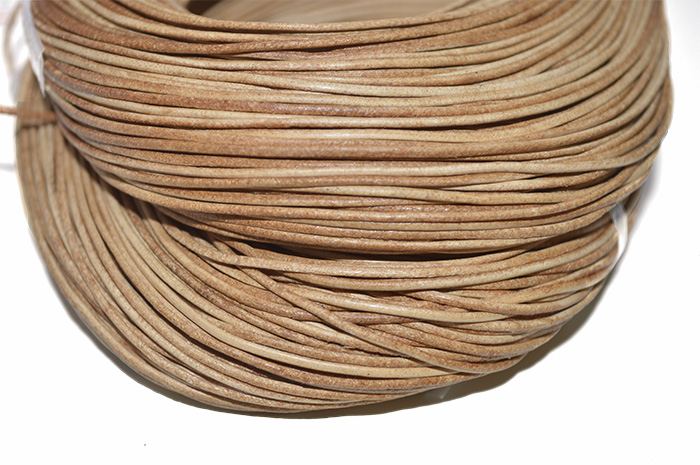 Couro Natural Caramelo 2mm
