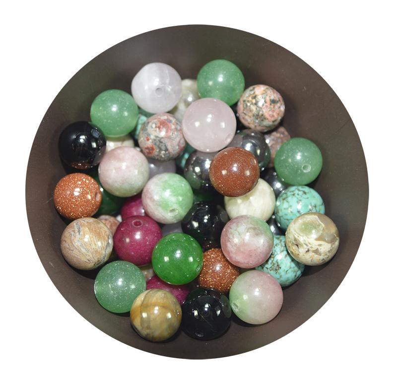 esferas de pedras naturais
