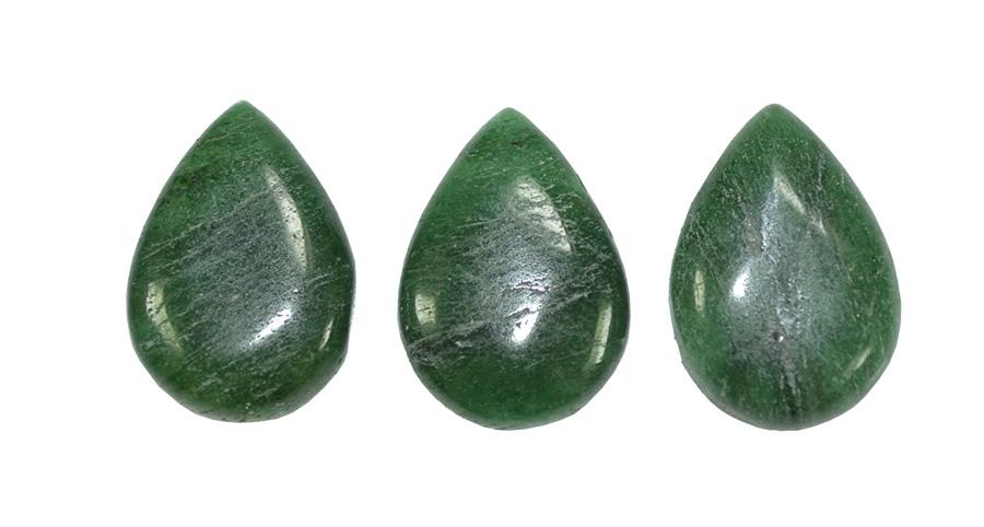 gota de quartzo verde