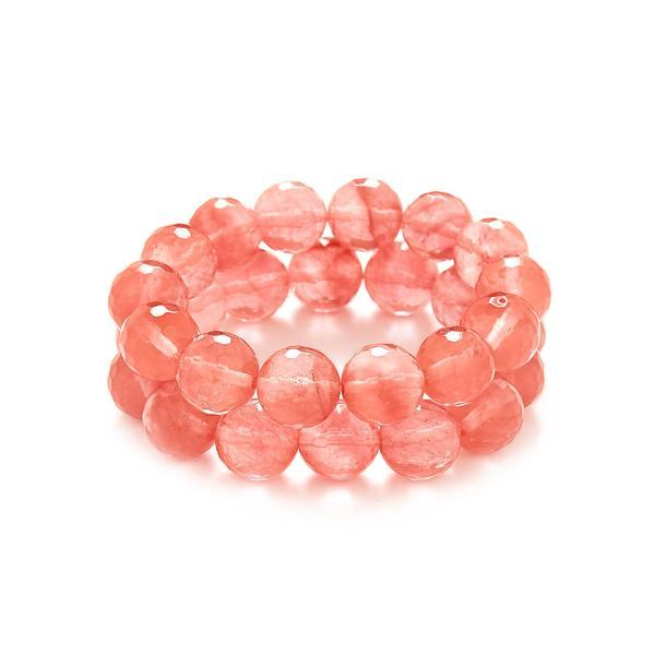 pulseira cristal cherry artstones