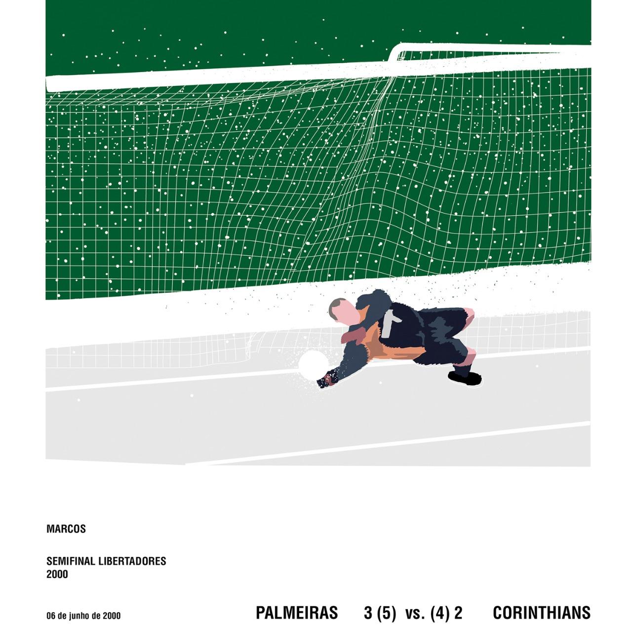 Defesa Marcos - Semifinal Libertadores 2000