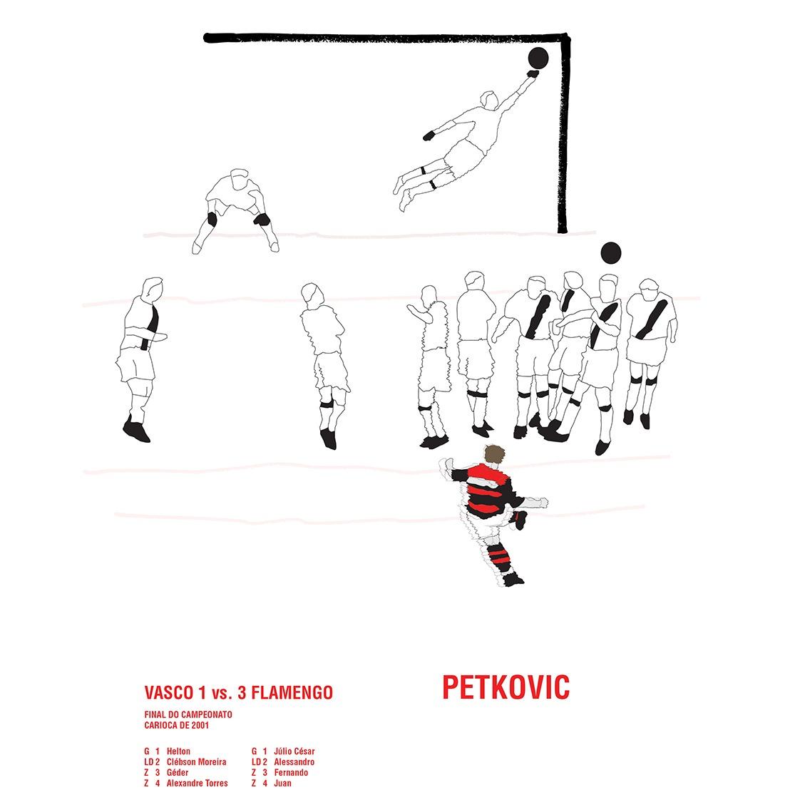 Dejan Petkovic - Campeonato Carioca 2001