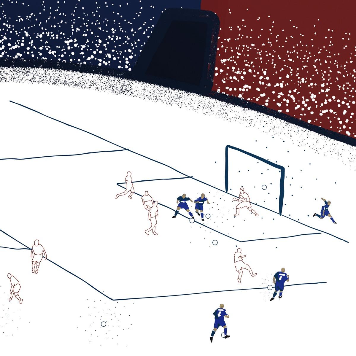 Gol de letra Alex - Copa do Brasil 2003