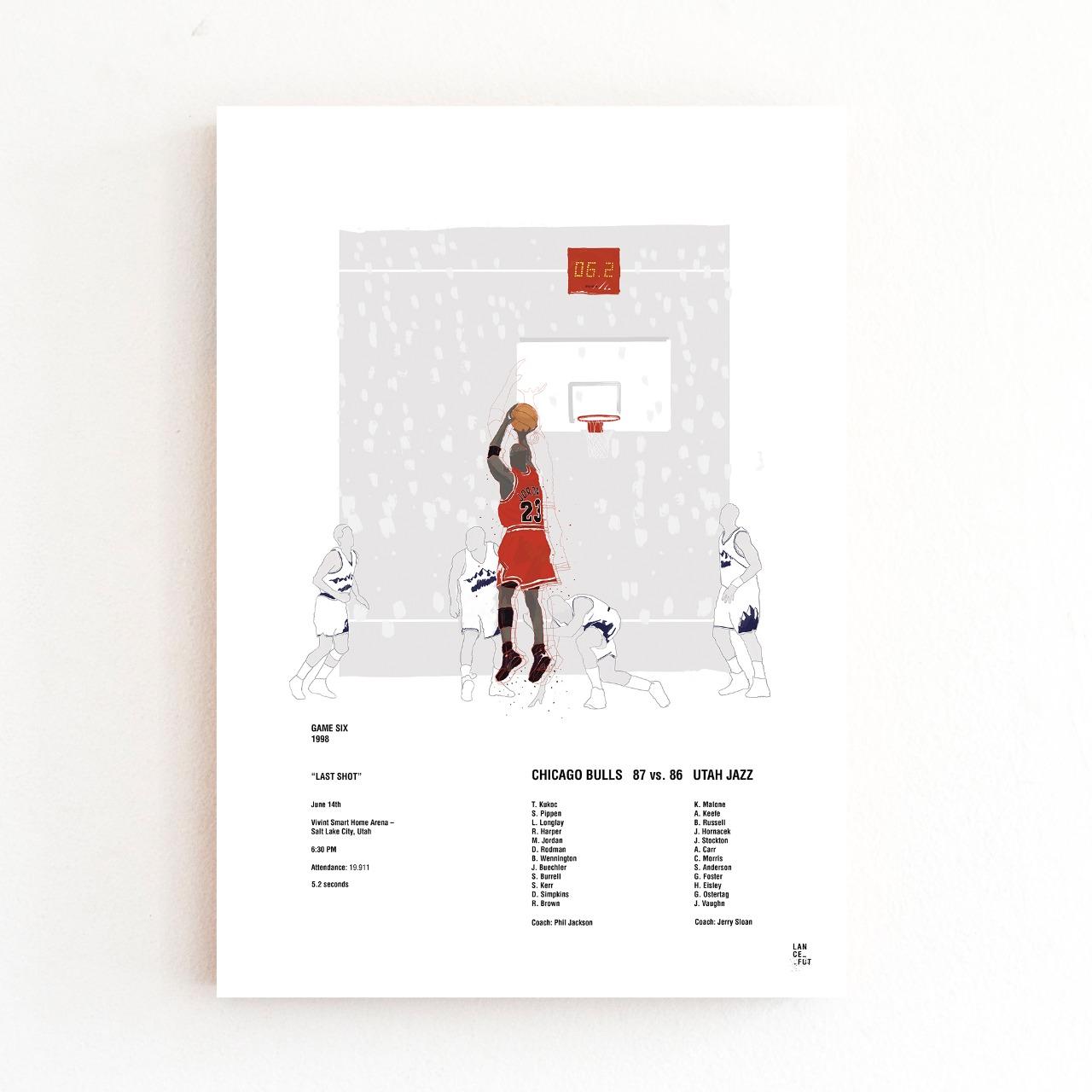 Michael Jordan - Arremesso Final