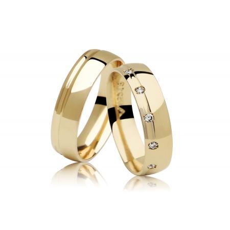 Aliança de Casamento em Ouro 18k Absolute - Unitária (5mm)