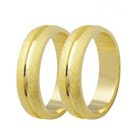Aliança de Casamento Etoile em Ouro 18k Diamantada - Unitária (5mm)