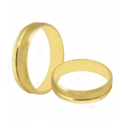 Aliança de Casamento Etoile em Ouro 18k Fosca - Unitária (5mm)