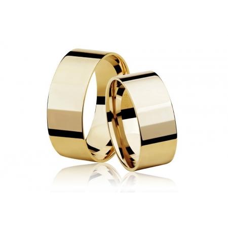 Aliança de Casamento Ouro 18k Reta - Unitária (6mm)