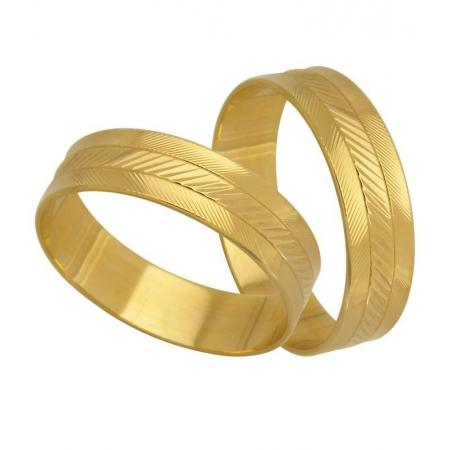 Aliança de Casamento Ouro Amarelo 18k Essential - Unitária (4.90mm)